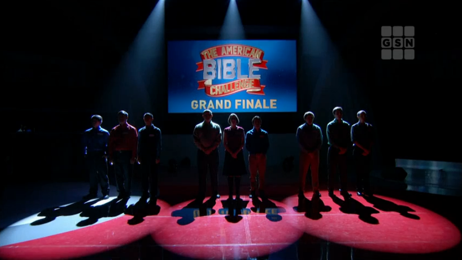 Grand Finale of Season 1, The American Bible Challenge