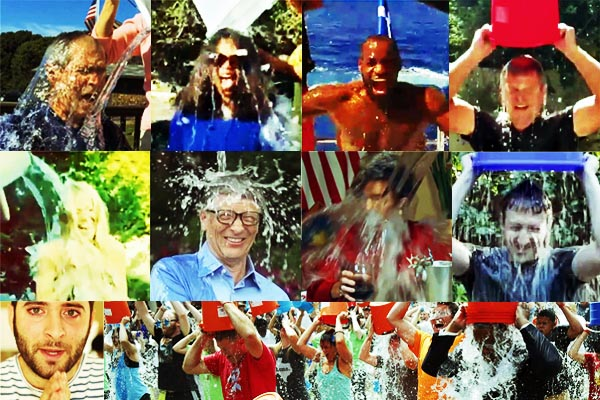 ALS Ice Bucket Collage