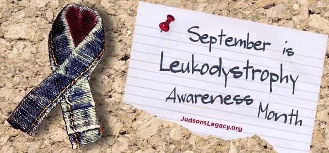 September Leukodystrophy Awareness Month